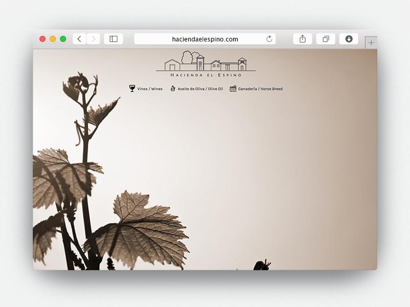 Web Hacienda El Espino