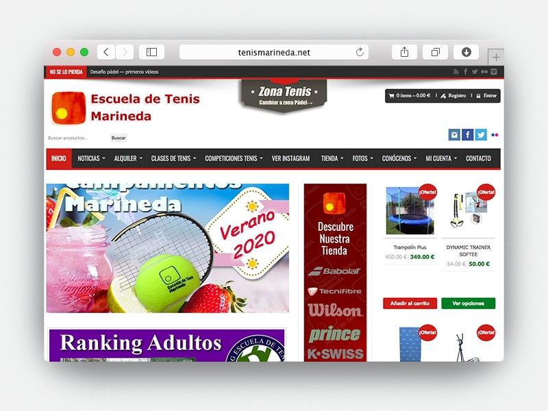 Web Marineda