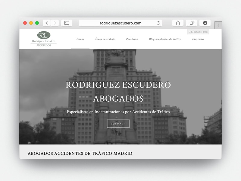 Web Rodriguez Escudero